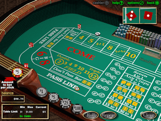 how to play casino craps and win