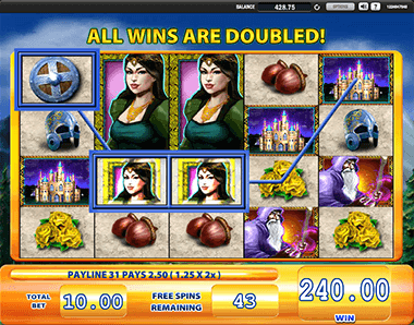 Lancelot Slot Game